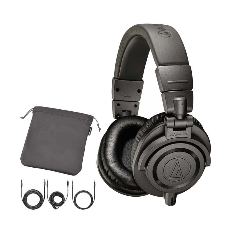 harga Audio Technica ATH-M50X Headphone - Metal Grey Blibli.com