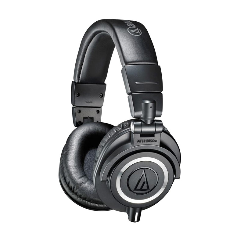 Audio Technica Professional Studio Monitor ATH-M50X Headphone - Black