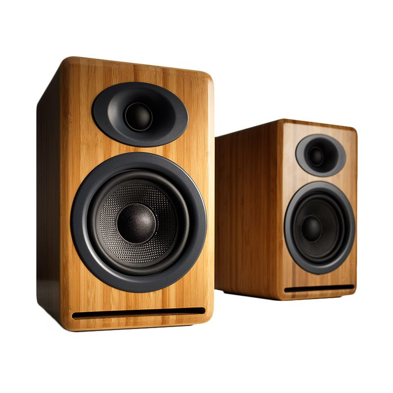 Audioengine P4 Bamboo Speaker