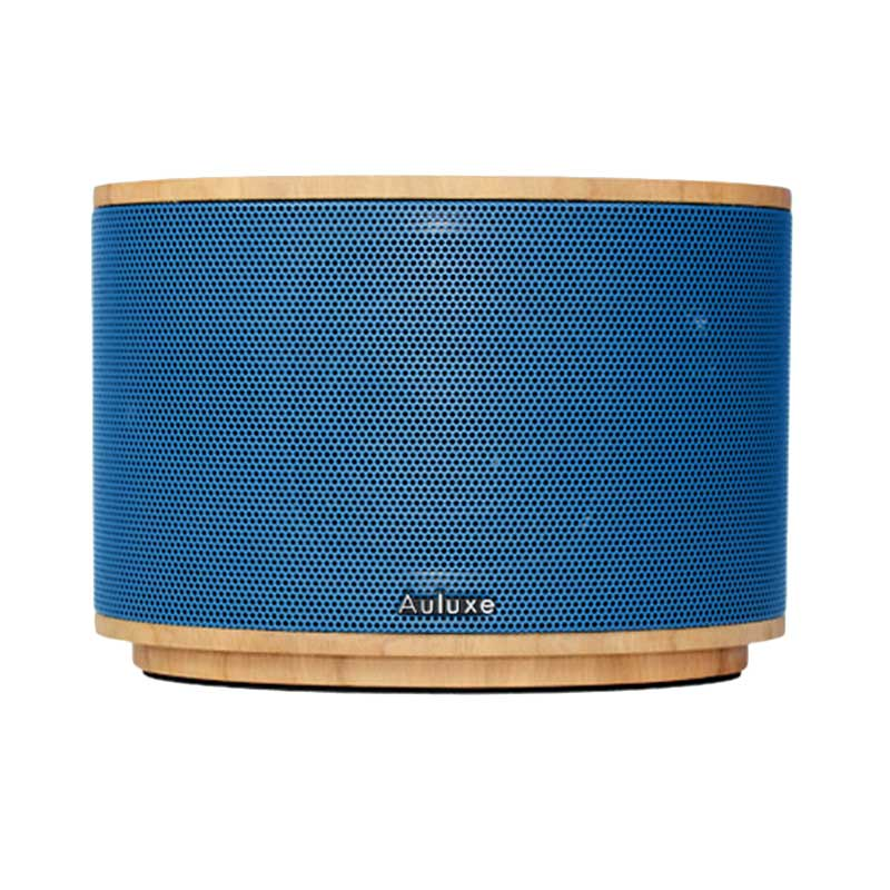 Auluxe Aurora Wood AW1010W Speaker - Cherry Blue