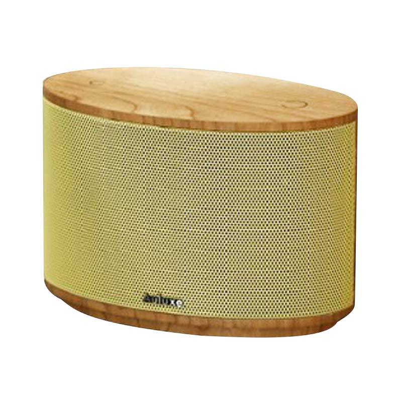 Auluxe Aurora Wood AW1010W Speaker - Cherry Yellow