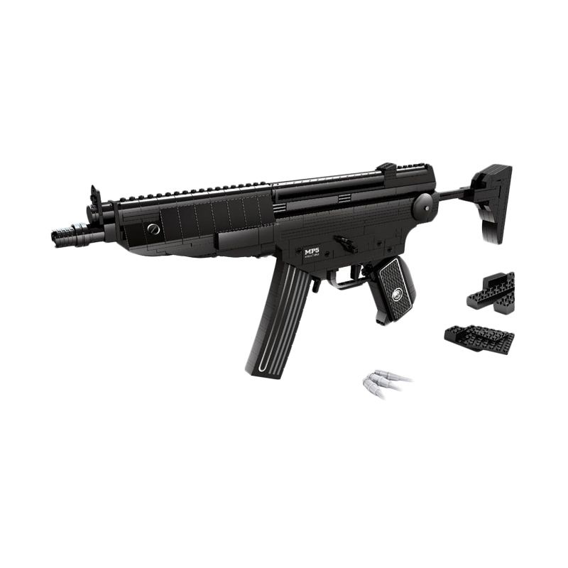 Ausini 22705 Assault Rifle Mainan Block & Puzzle