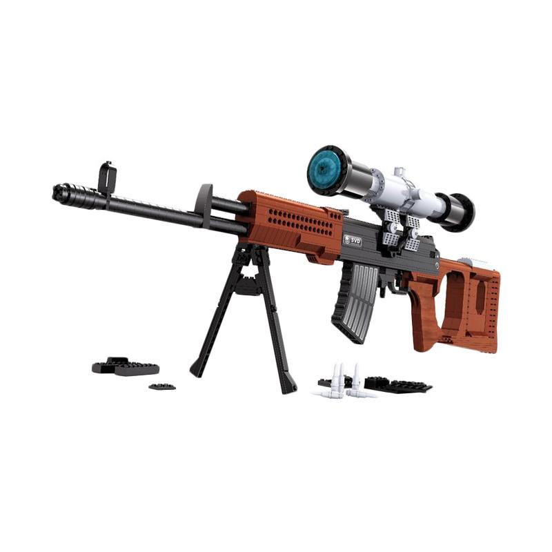 Ausini 22803 SVD Snipper Mainan Blok & Puzzle