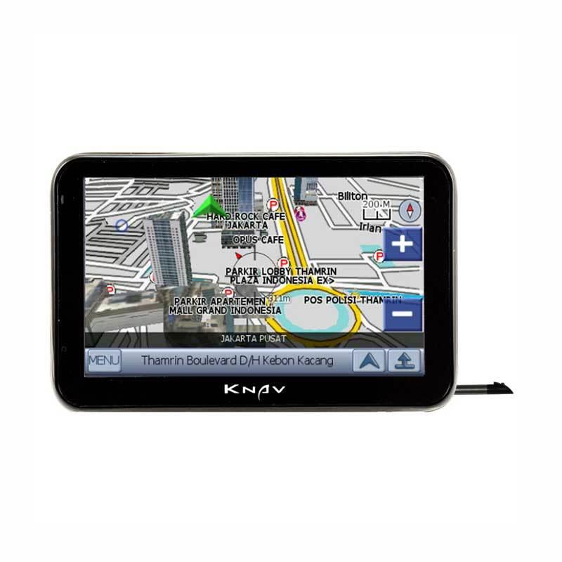 KNAV GPS Navigation with TV-Hitam