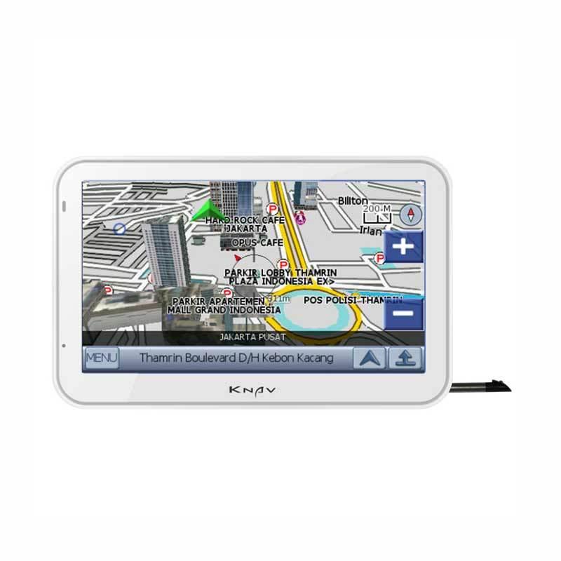 KNAV GPS Navigation with TV-Putih