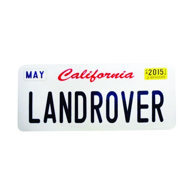 Automilshop California Land Rover Putih Sticker