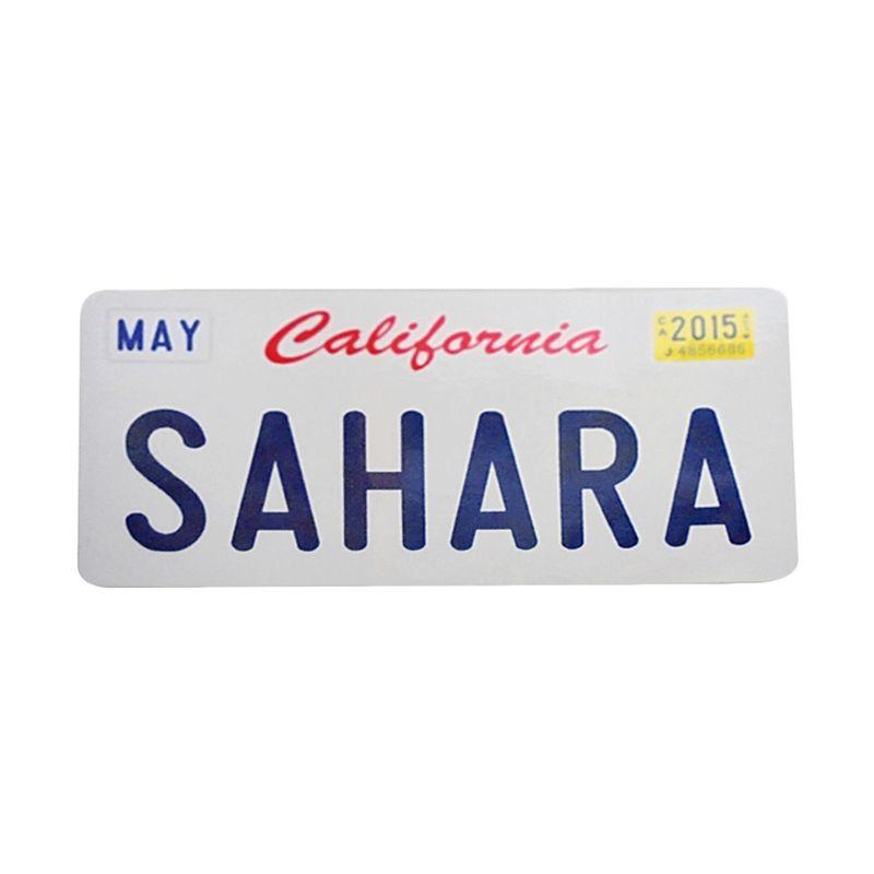 Automilshop California Sahara Putih Sticker