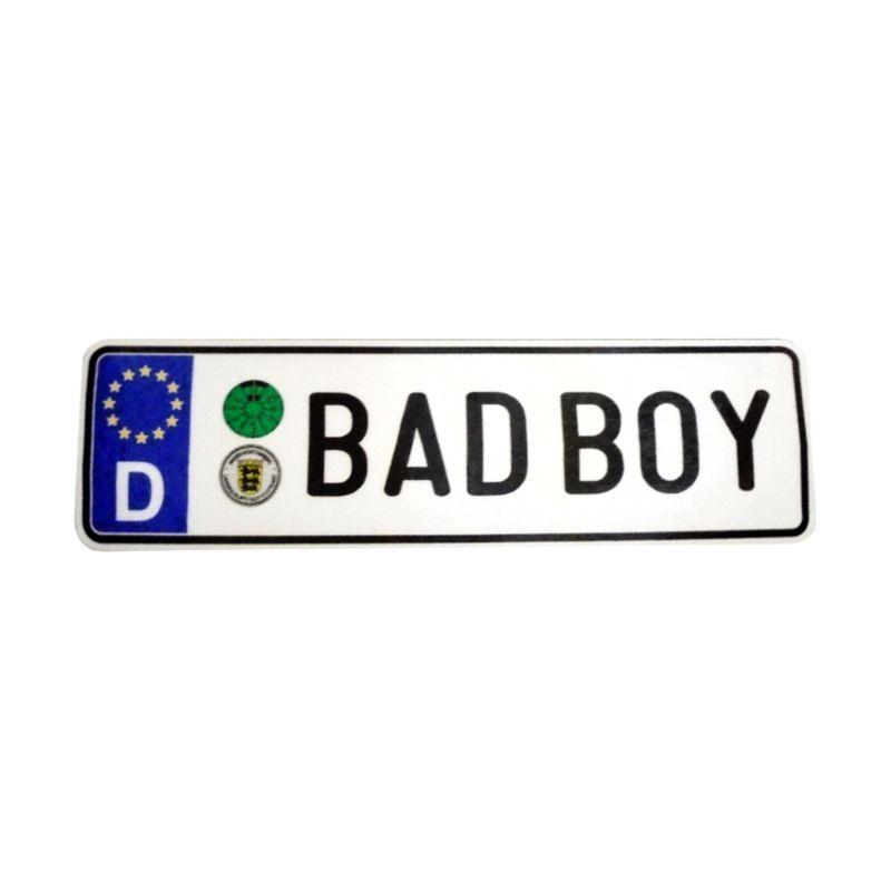 Automilshop D Bad Boy Putih Sticker