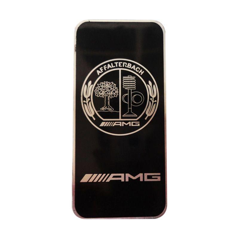Automilshop Logo AMG Roundel Hitam Aksesoris Mobil