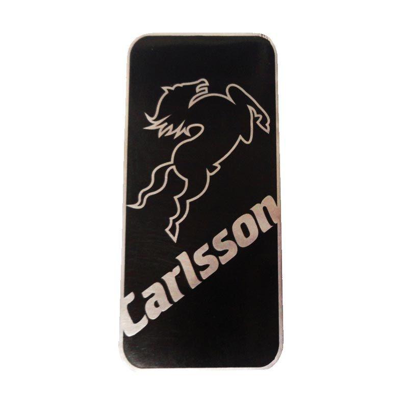 Automilshop Logo Carlsson 1 Hitam Aksesoris Mobil