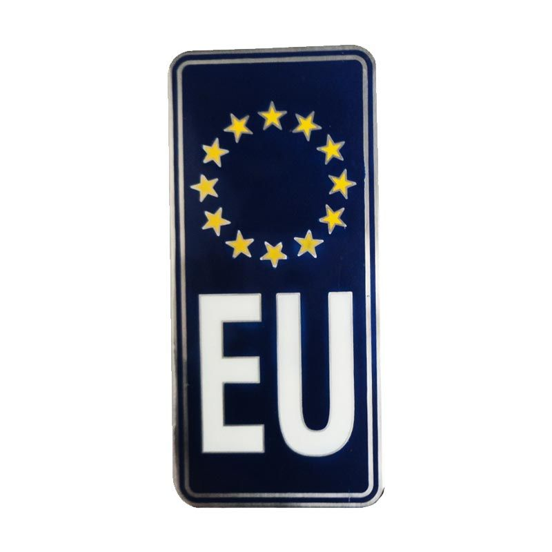 Automilshop Logo EU Biru Tua Aksesoris Mobil