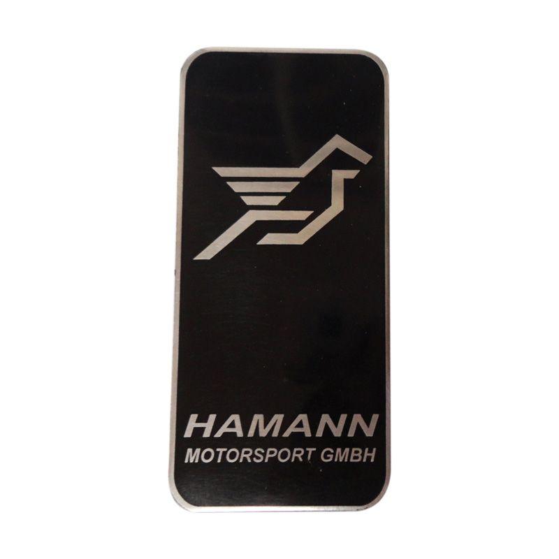 Automilshop Logo Hamann Hitam Aksesoris Mobil