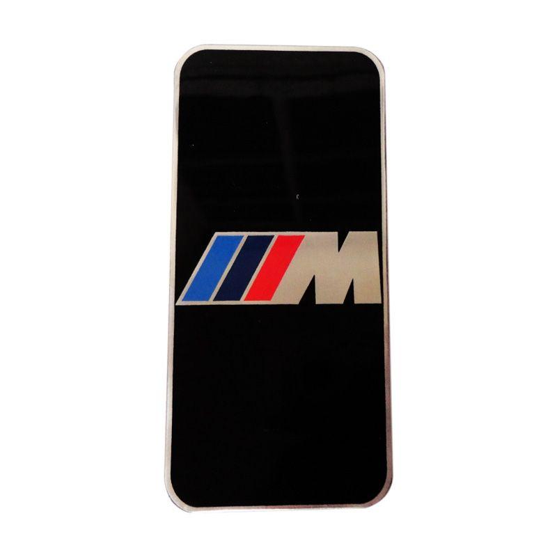 Automilshop Logo M Power Hitam Aksesoris Mobil