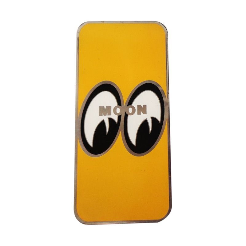 Automilshop Logo Moon Kuning Aksesoris Mobil