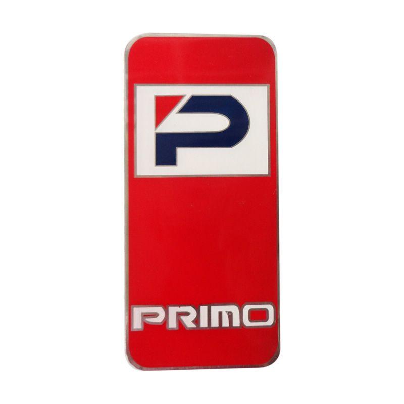 Automilshop Logo Primo Merah Aksesoris Mobil