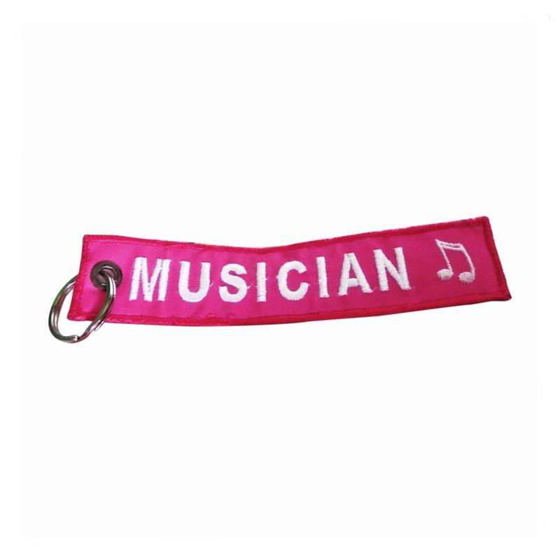 Automilshop Musician Pink Gantungan Kunci