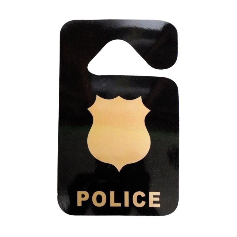 Automilshop Police Parking Permit Aksesoris Mobil