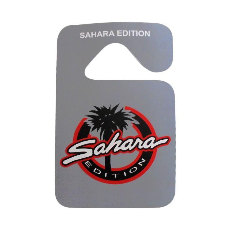 Automilshop Sahara Abu-Abu Parking Permit Aksesoris Mobil