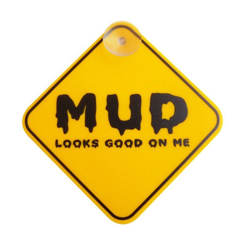 Automilshop Mud Kuning Sign Board Aksesoris Mobil