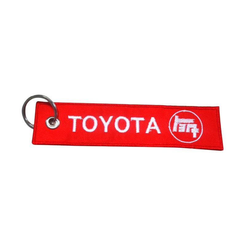 Automilshop Toyota Merah Gantungan Kunci