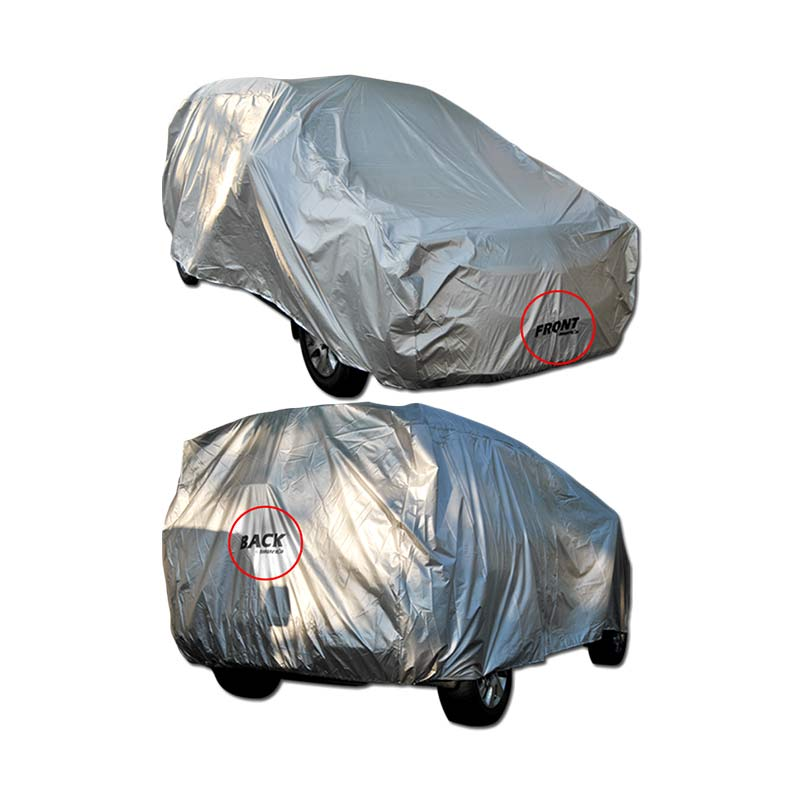 Autorace impreza Body Cover Mobil for Toyota Altis- Abu-abu