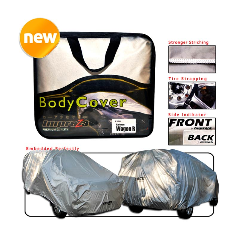 Autorace Air Impreza Body Cover for Suzuki Wagon - Silver