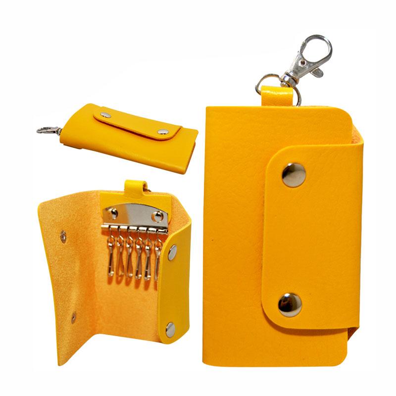 Autorace Dompet Mobil Motor Polos Gantungan - Kuning