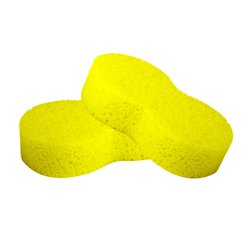 Happy Clean Spons Cuci Mobil - Yellow
