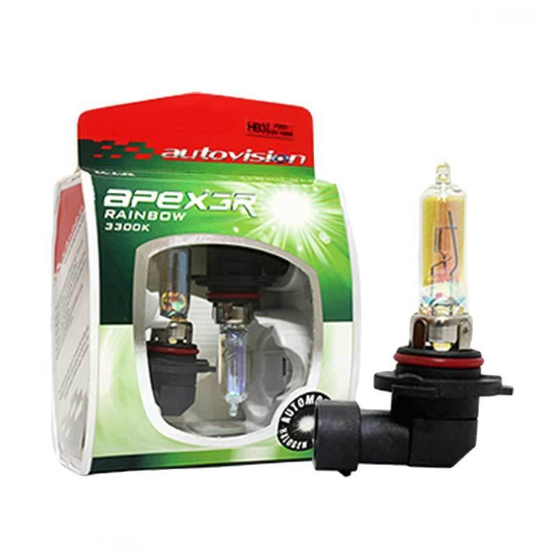 Autovision APEX Car HB3 Lampu Halogen Rainbow