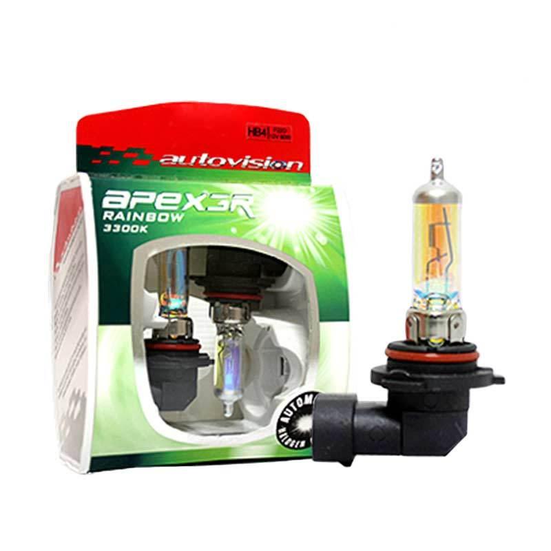 Autovision APEX Car HB4 Lampu Halogen Rainbow