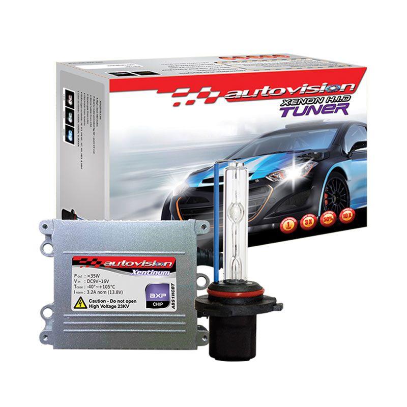 Autovision HID Kit Tuner H7 6000K Lampu Mobil