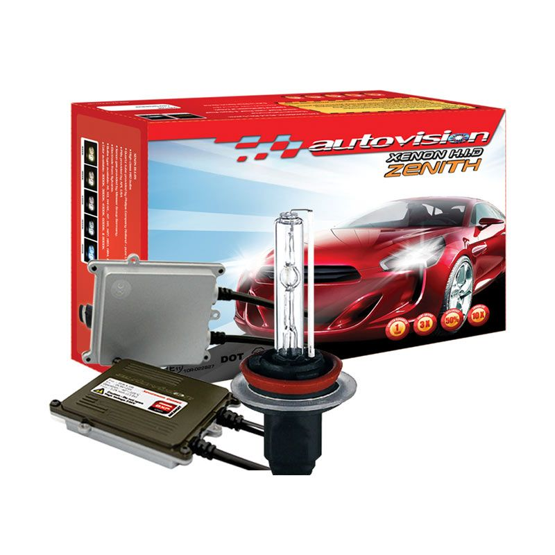 Autovision HID Kit Zenith H11 4300K Lampu Mobil