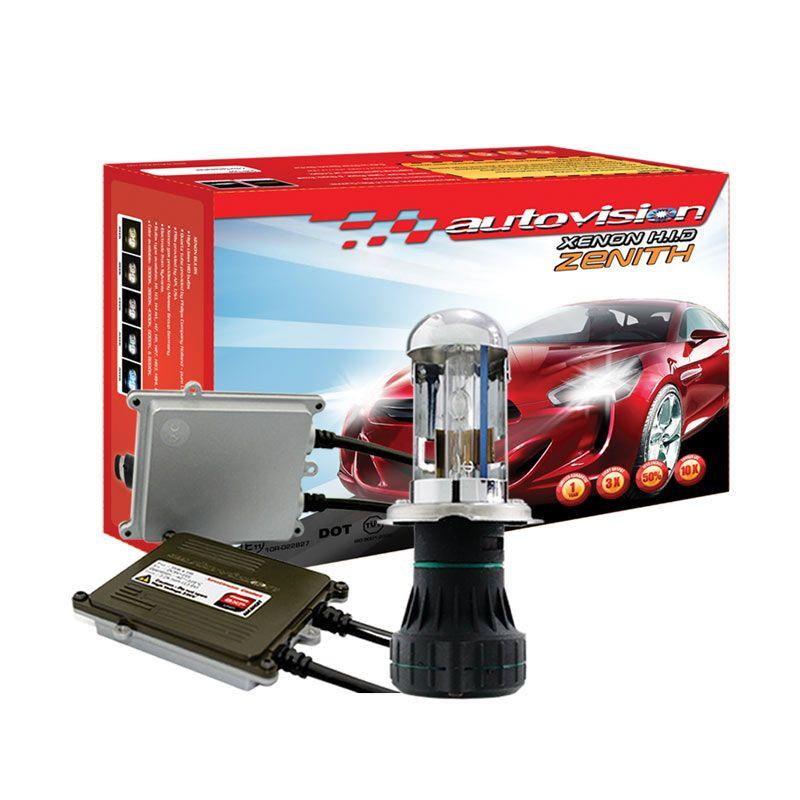 Autovision HID Kit Zenith H4 6000K Lampu Mobil