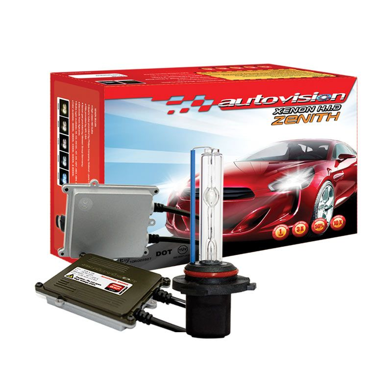 Autovision HID Kit Zenith H7 6000K Lampu Mobil