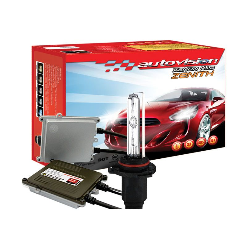Autovision HID Kit Zenith HB3 6000K Lampu Mobil