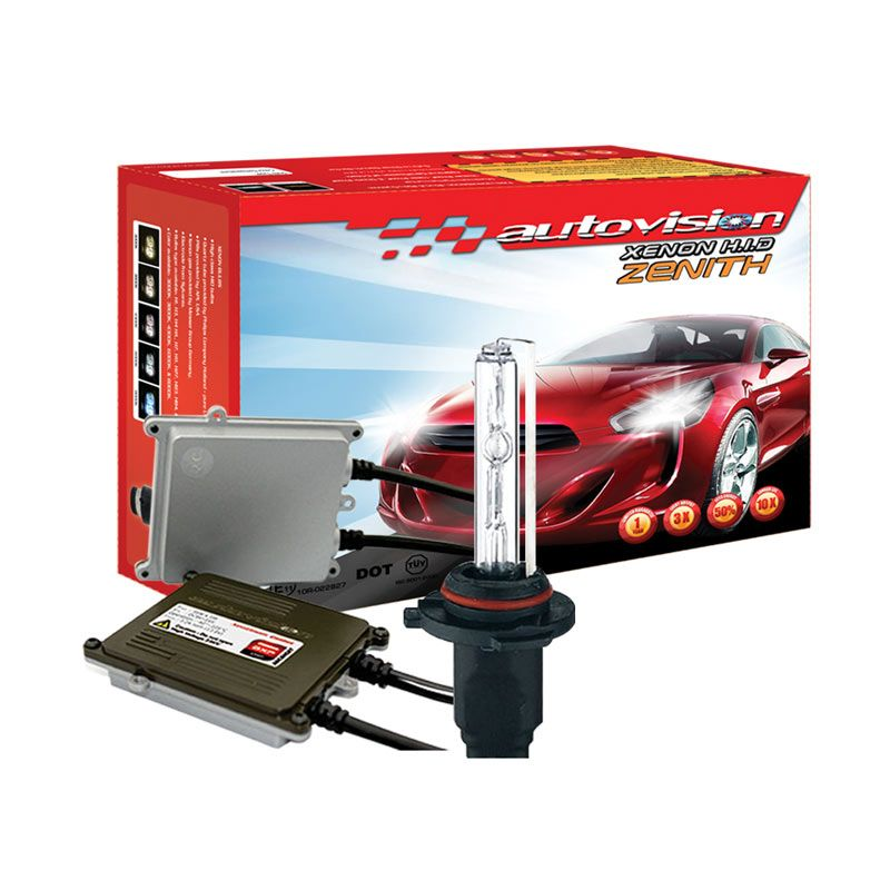 Autovision HID Kit Zenith HB4 6000K Lampu Mobil