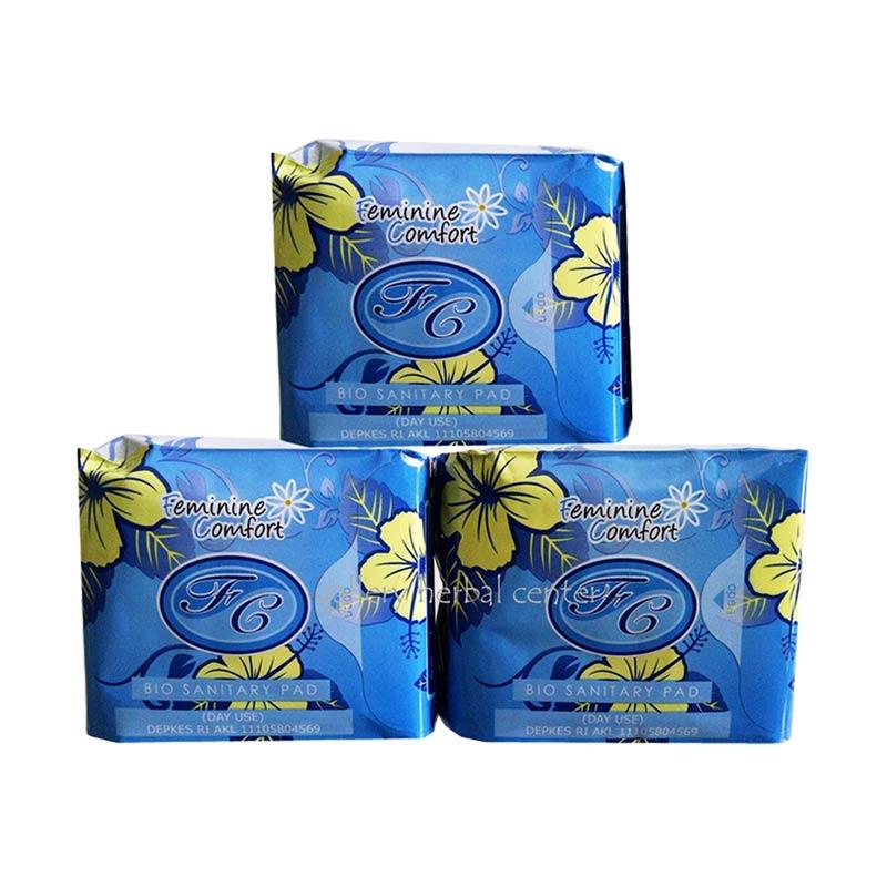 Avail Pembalut Herbal Siang Biru Original Day Use [3 Bungkus]