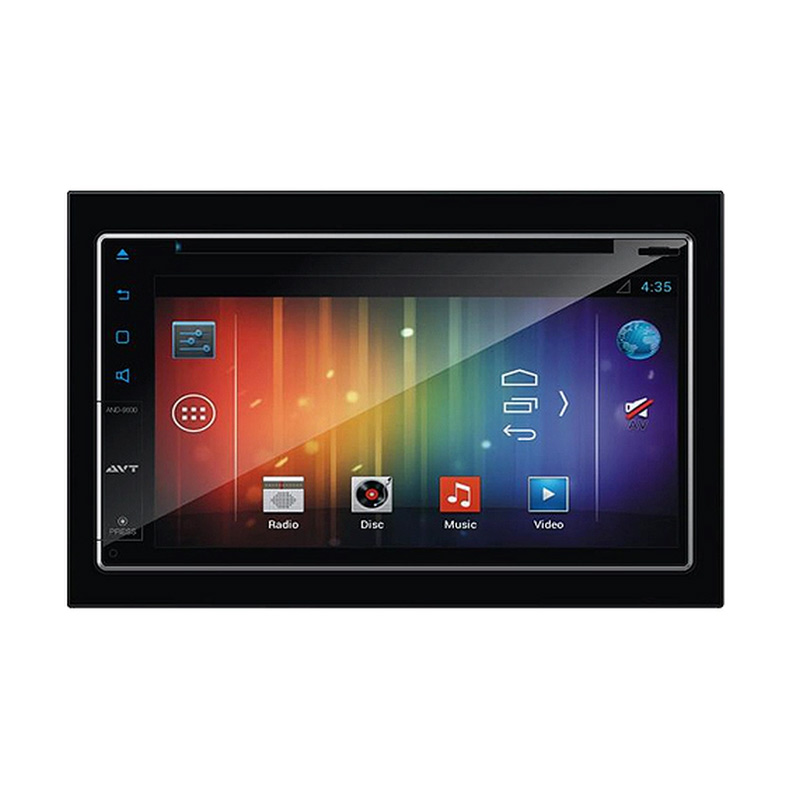 AVT AND-9000 Double Din with Android OS, Bluetooth & GPS [6.75 Inch]