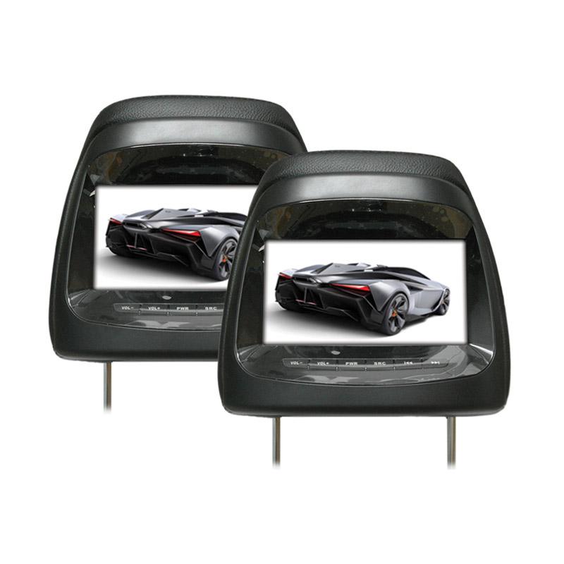 harga AVT HM-7188RM Black Headrest Monitor for Mitsubishi Pajero TV Mobil Blibli.com
