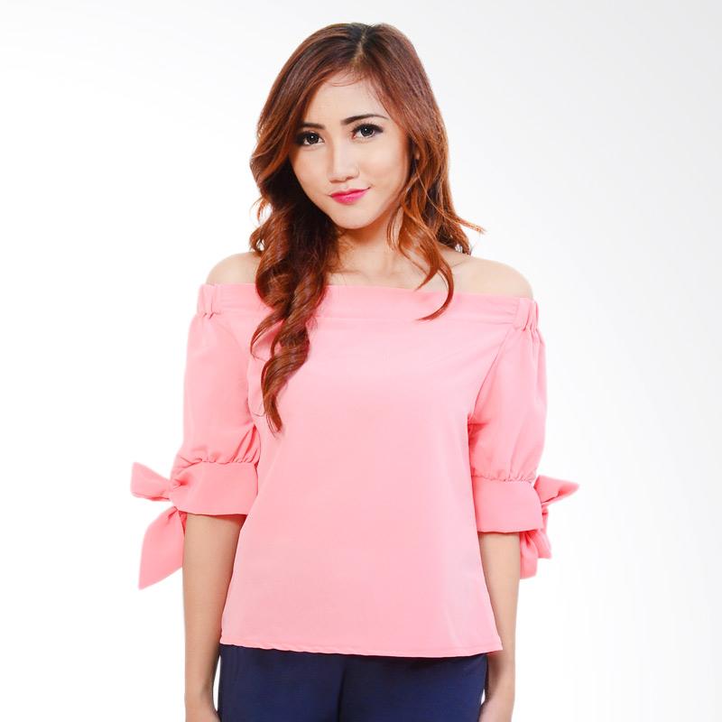 Ayako 4131 Fashion Blouse Daisy - Pink