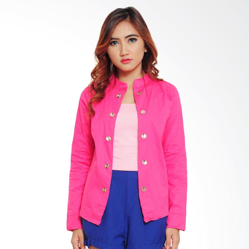 Ayako Fashion Keiko Blazer Wanita - Pink