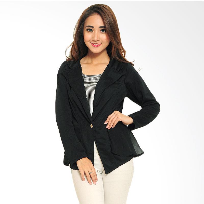 Ayako Fashion Blazer Vivian - Hitam