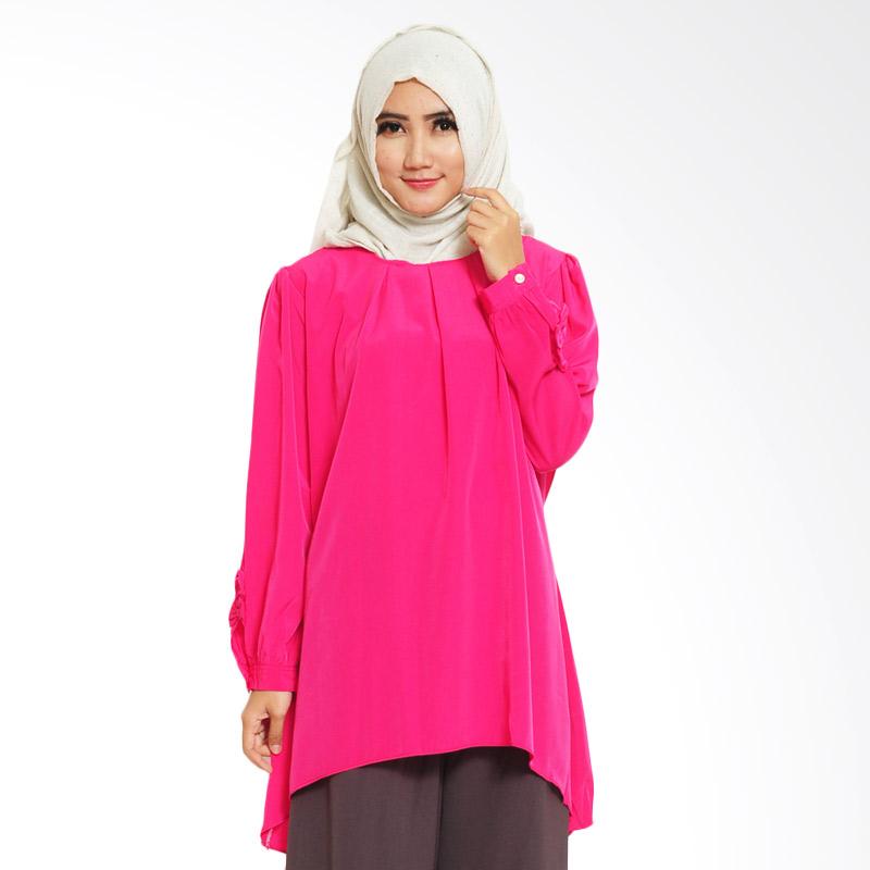Ayako Fashion Leffy 01 Blouse - Pink