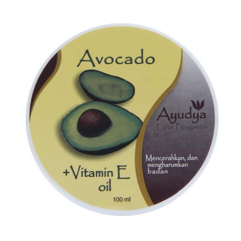 Ayudya Avocado + Vit E Lulur Pengantin [100 mL]