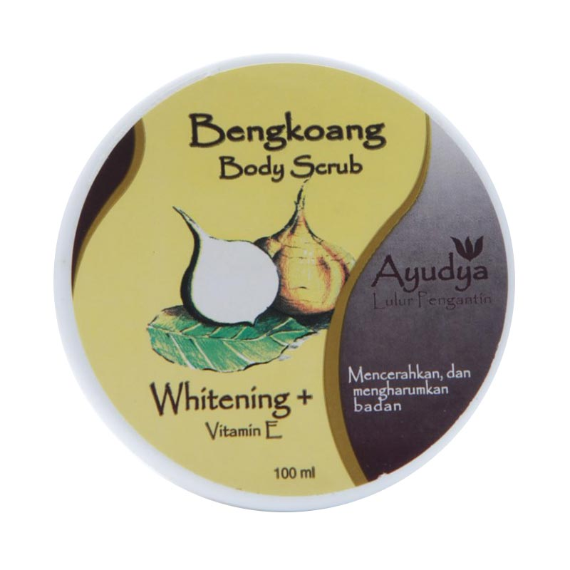 Ayudya Bengkoang + Vit E Lulur Pengantin [100 mL]