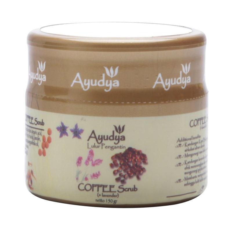 Ayudya Coffee Lavender Lulur Pengantin [150gr]