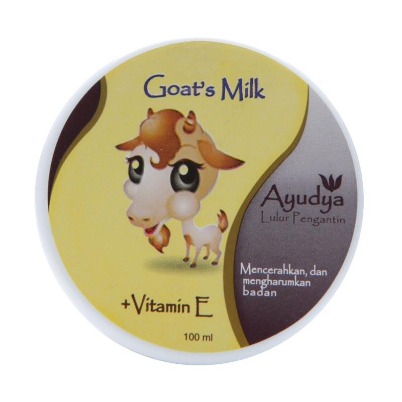 Ayudya Goat's Milk Lulur Pengantin [100 mL]