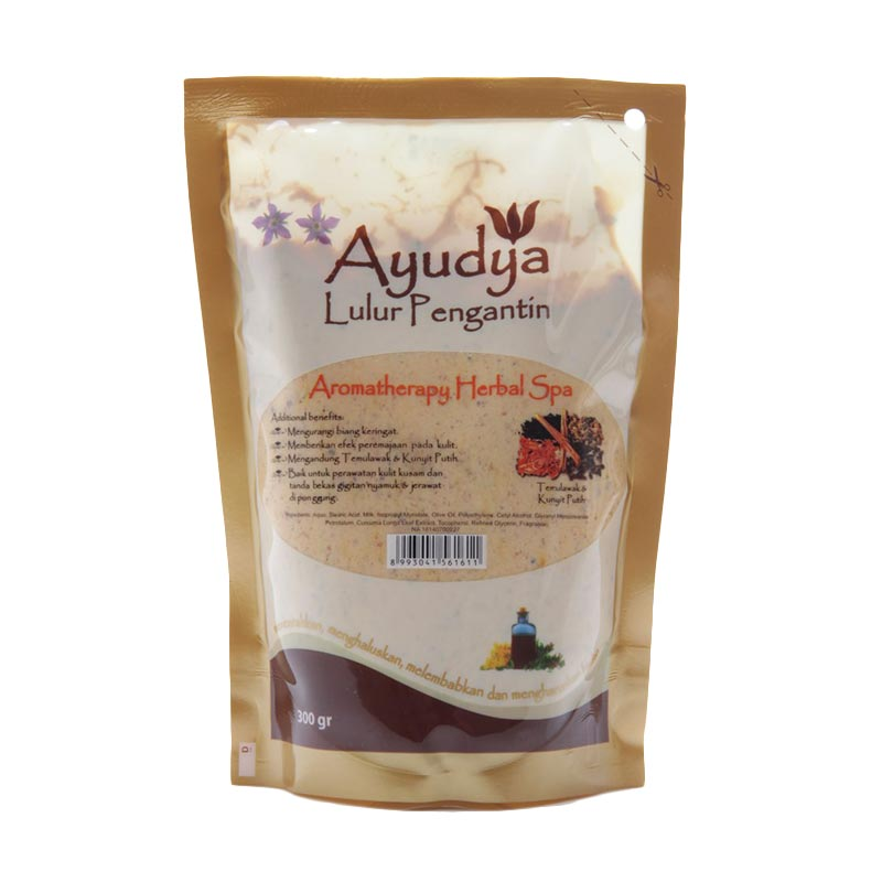 Ayudya Lulur Pengantin Aromatherapy Herbal Spa [300gr] Refill