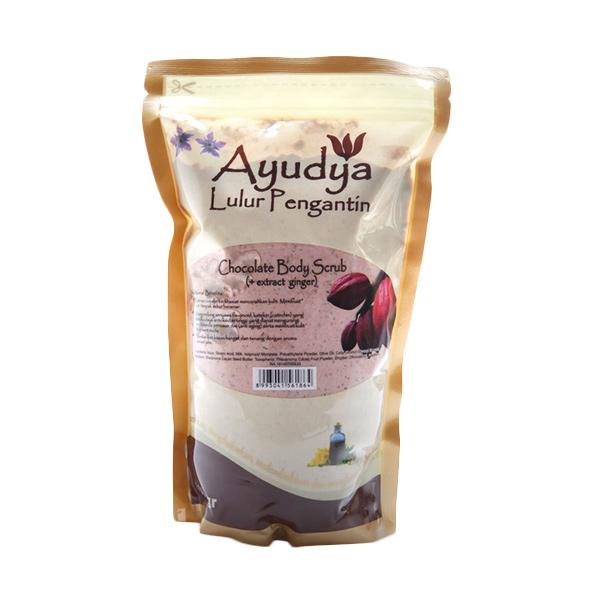 Ayudya Lulur Pengantin Chocolate [ginger] [Refill 1000 gr]