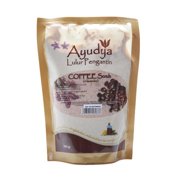 Ayudya Lulur Pengantin Coffee Lavender [Refill 300 gr]